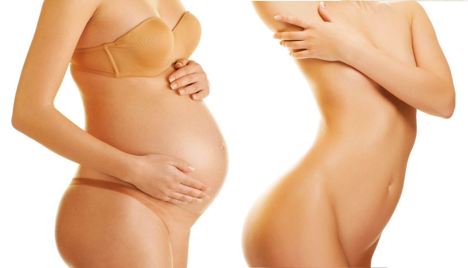Как вернуть красоту после родов