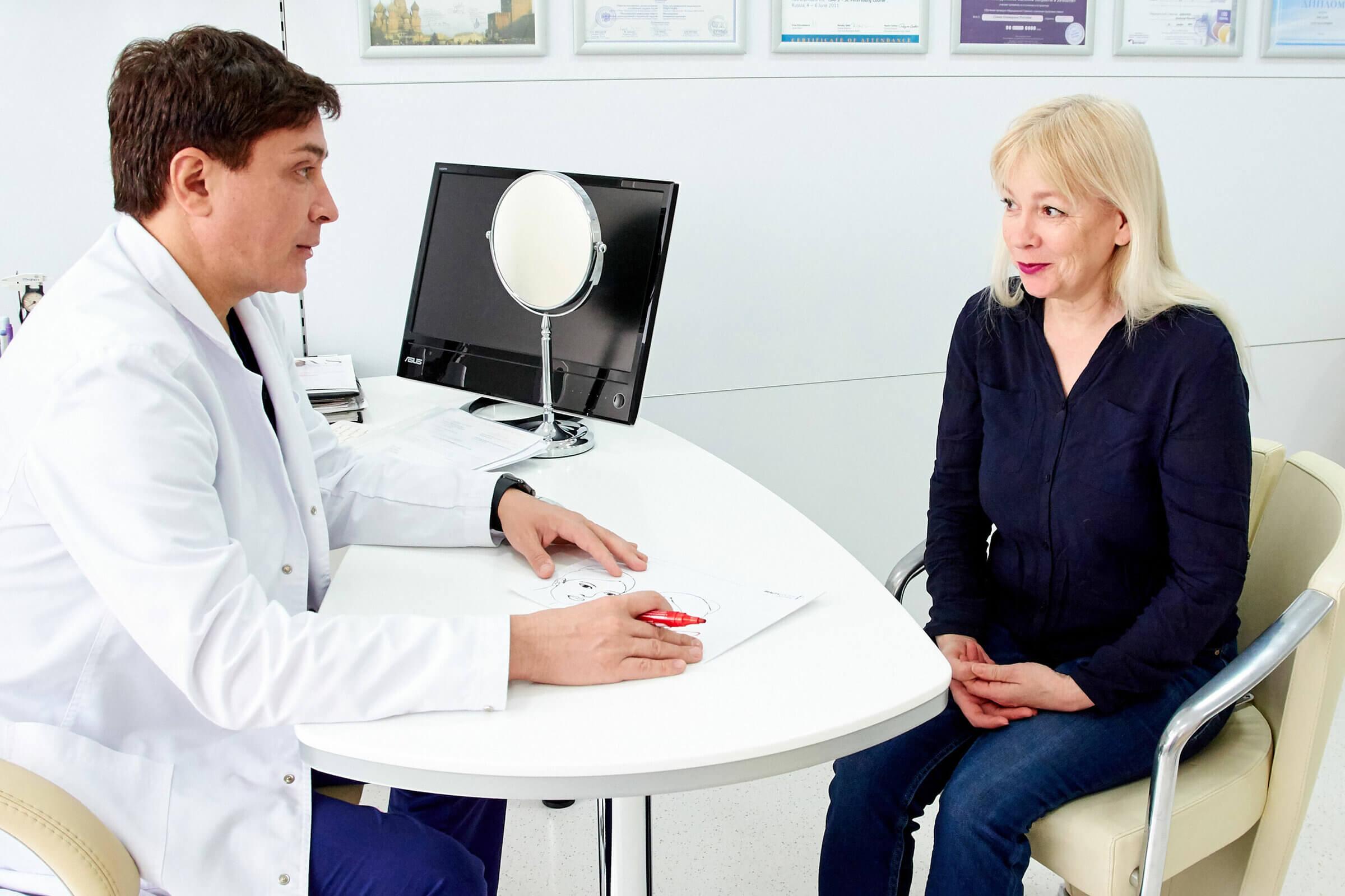 Планирование пластической операции Beauty Doctor