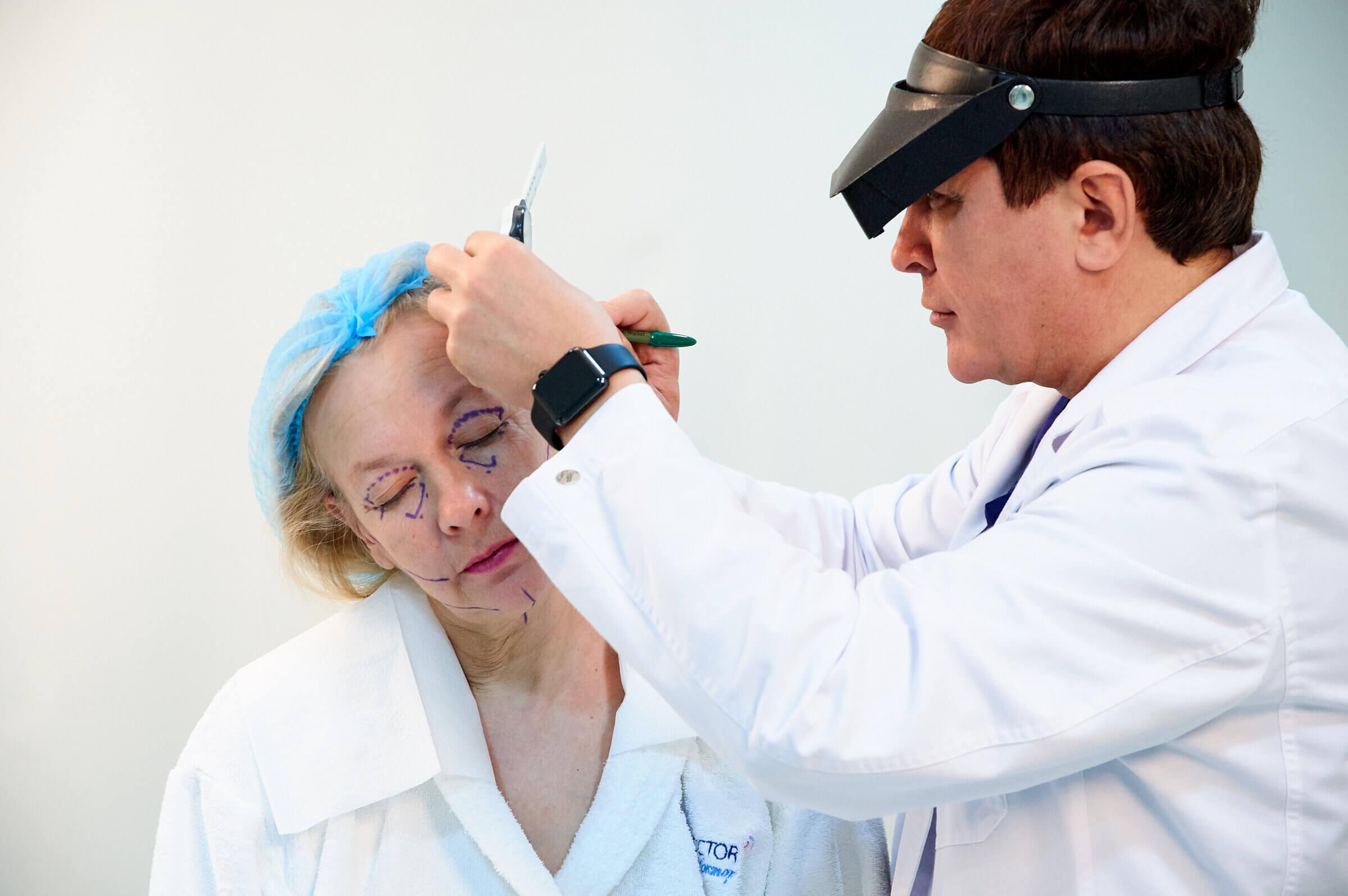 Подготовка к операции Beauty Doctor